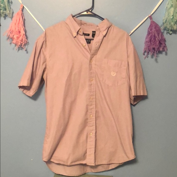 Chaps Other - Men's chaps short sleeved button up
